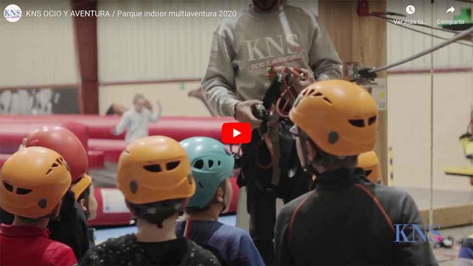Video del parque de aventura y humor amarillo KNS